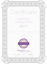 Cer tificate of Treatment Transparency | Ure Centro Gutenberg