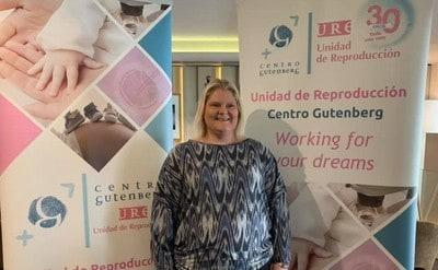 Louise Brown en Málaga: así celebramos los 30 años de nuestra primera niña nacida por FIV